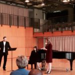 In Master Class with Andreas Scholl at CCM, 2015