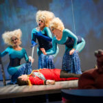 """Second Lady in """"Die Zauberflöte"""" at Bard College-Conservatory of Music, 2016"""