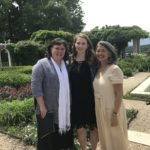 With mentors, Dawn Upshaw and Kayo Iwama, at Bard Conservatory graduation in May 2017