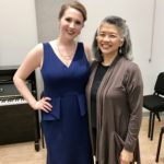 With mentor, Kayo Iwama, after Master's Recital in May 2017